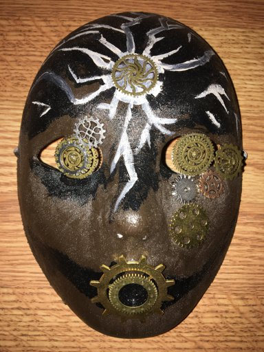 """My Most Recently Made Mask. """"Breaking From the Machine"""""""