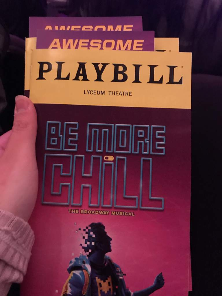 My experience of Be More Chill on Broadway! | Be More Chill! Amino