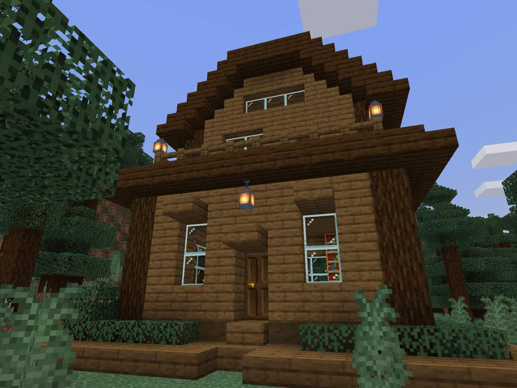 Spruce Cottage Biomehome Minecraft Gamers Amino