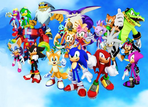 Image Sonic Riders Characters Wallpaper Best Cool Wallpaper Hd Download Sonic The Hedgehog Amino