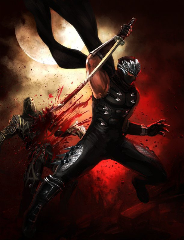 Ryu Hayabusa Ninja Gaiden Vs Adam Taurus Rwby Battle Arena