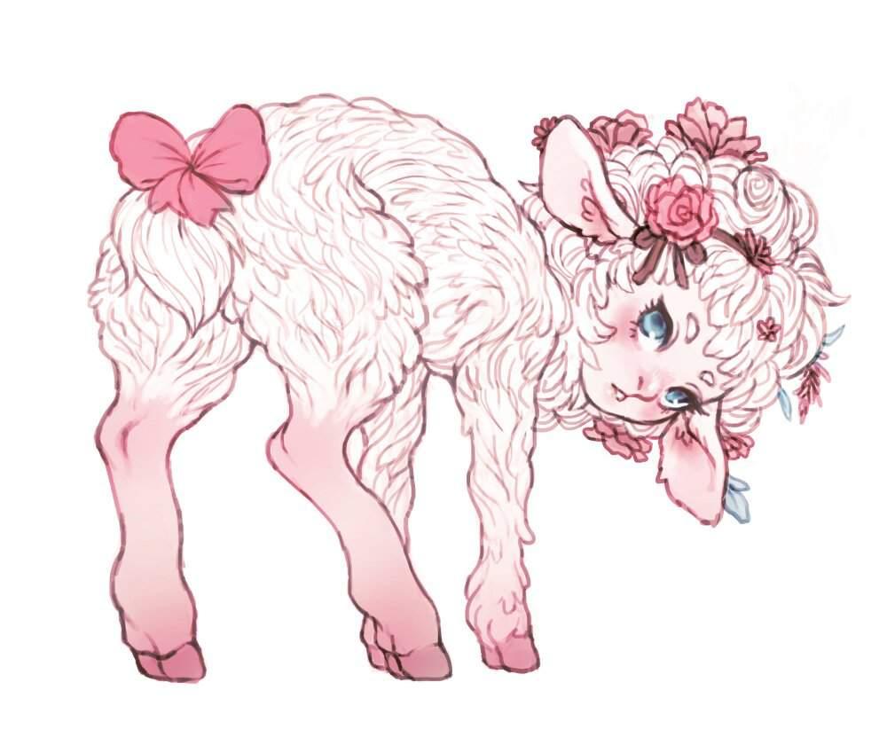 Картинки аниме барашка