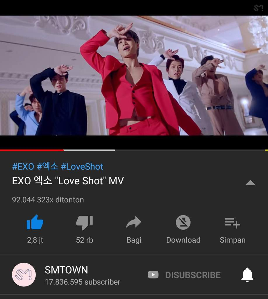 Tempo & Love Shot to 100 Million Viewers | EXO-L INDONESIA