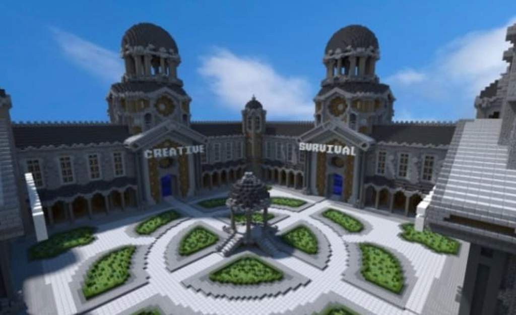 minecraft creative and survival servers