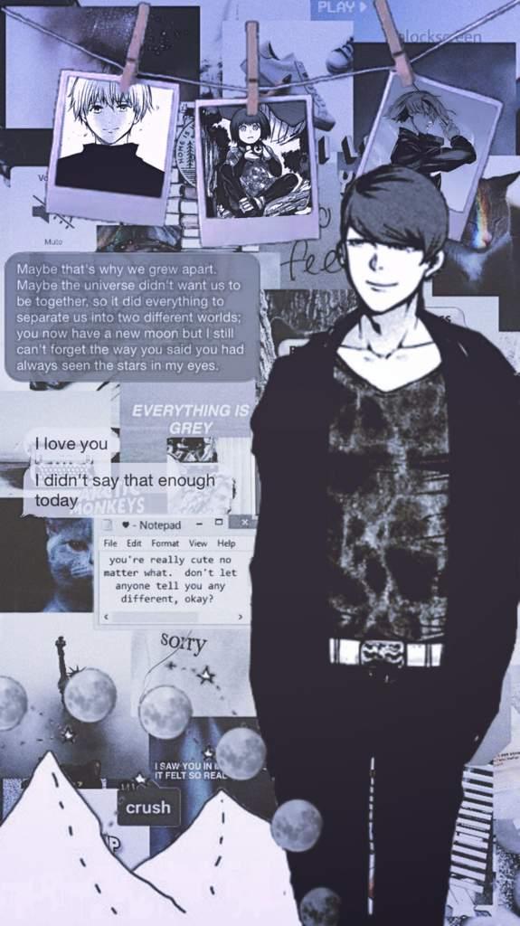 Wallpaper Edits Shuu Hide Mayu Eto Tokyo Ghoul Rp Amino