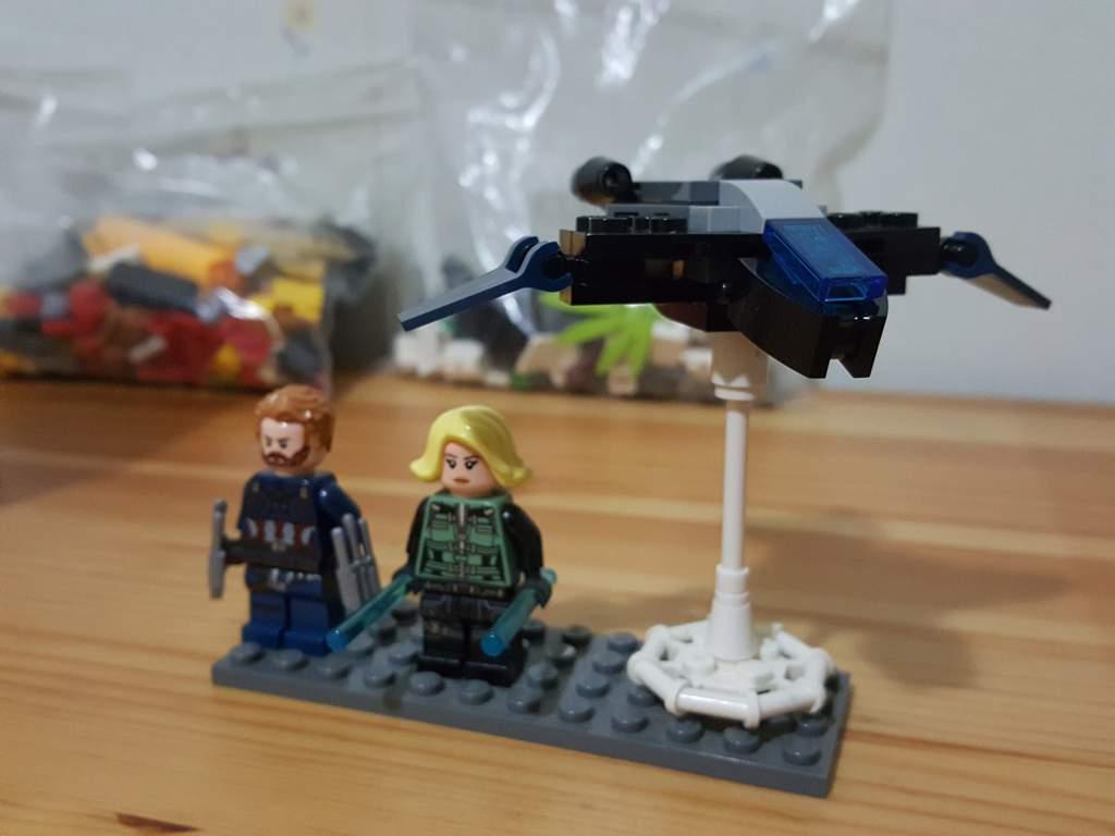 LEGO Avengers mini Quinjet   LEGO Amino