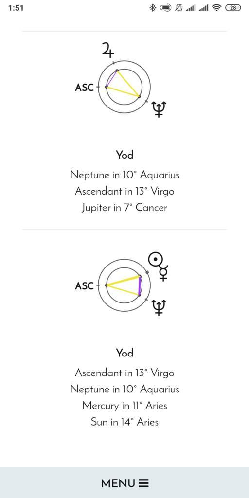 Yod   Zodiac Amino