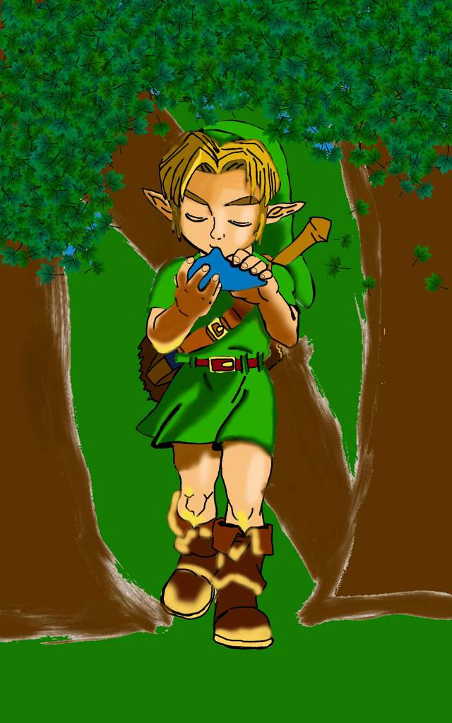 Dessin Link Enfant The Legend Of Zelda Français Amino