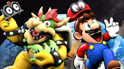 "Long-Haired Luigi lets it Shine Shine Shine""   Mario Odyssey"