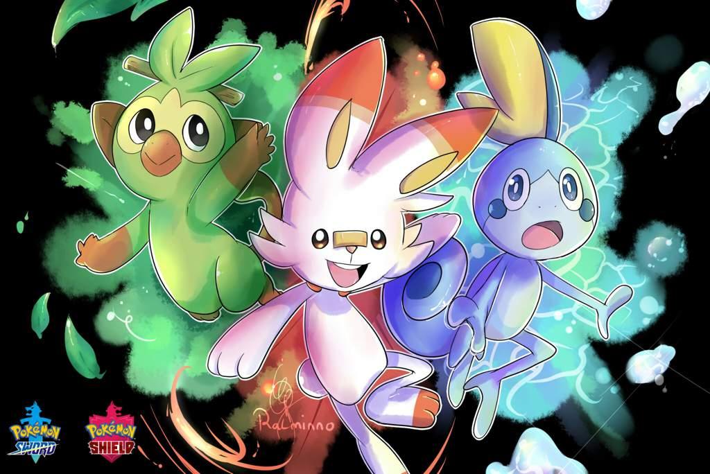 Pokemon Sword And Shield Starters 8 Gen Pokemon Amino