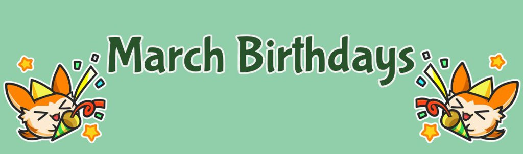 Image result for march birthdays
