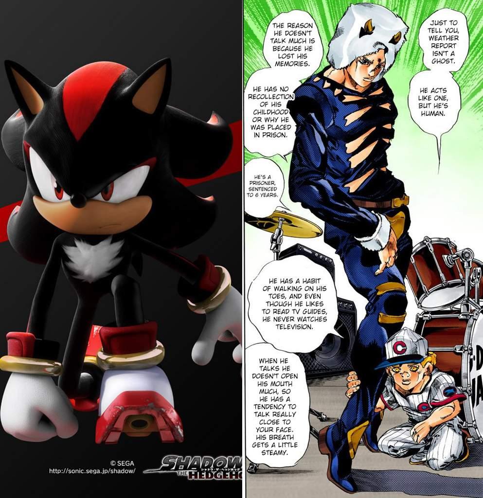 Weather Shadow Sonic Jojo Sonic The Hedgehog Amino