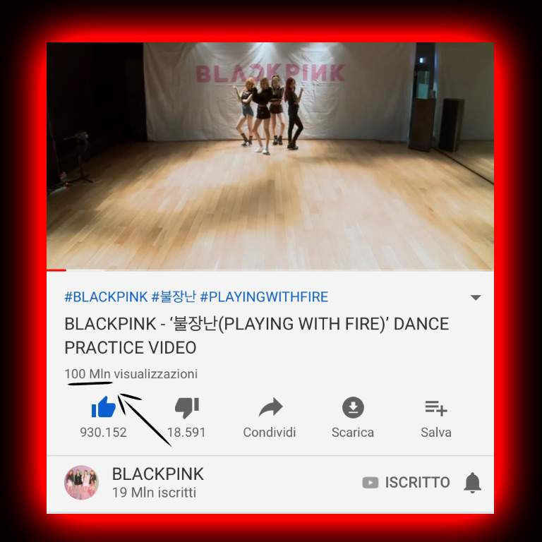 Dance Practice Playing With Fire 100 Mln Views Ba News