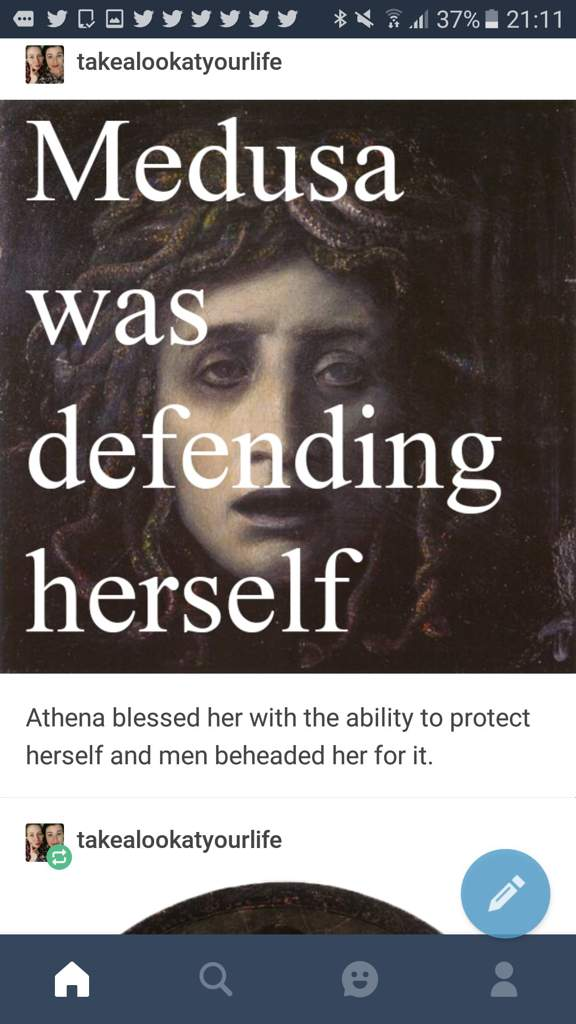 Daily Question: Is Athena Guilty of turning Medusa into a