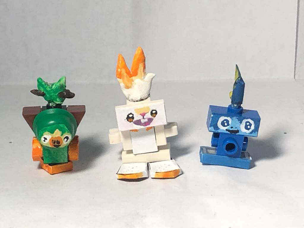 Lego Pokemon Sword And Pokemon Shield Starter Customs Lego Amino