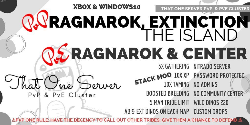 Xbox & Windows10 PvP & PvE Cluster | Ark Survival Evolved Amino
