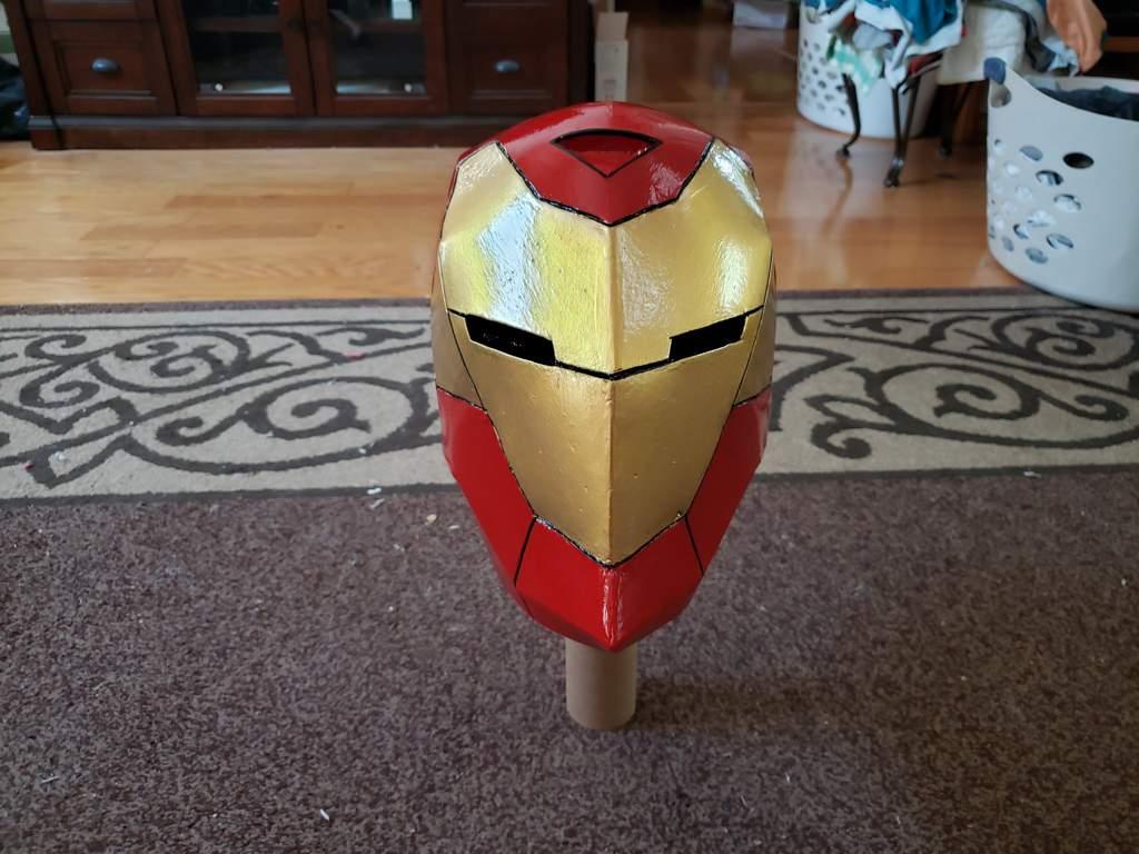 Invincible Man helmet 2 0 complete! | Marvel Amino