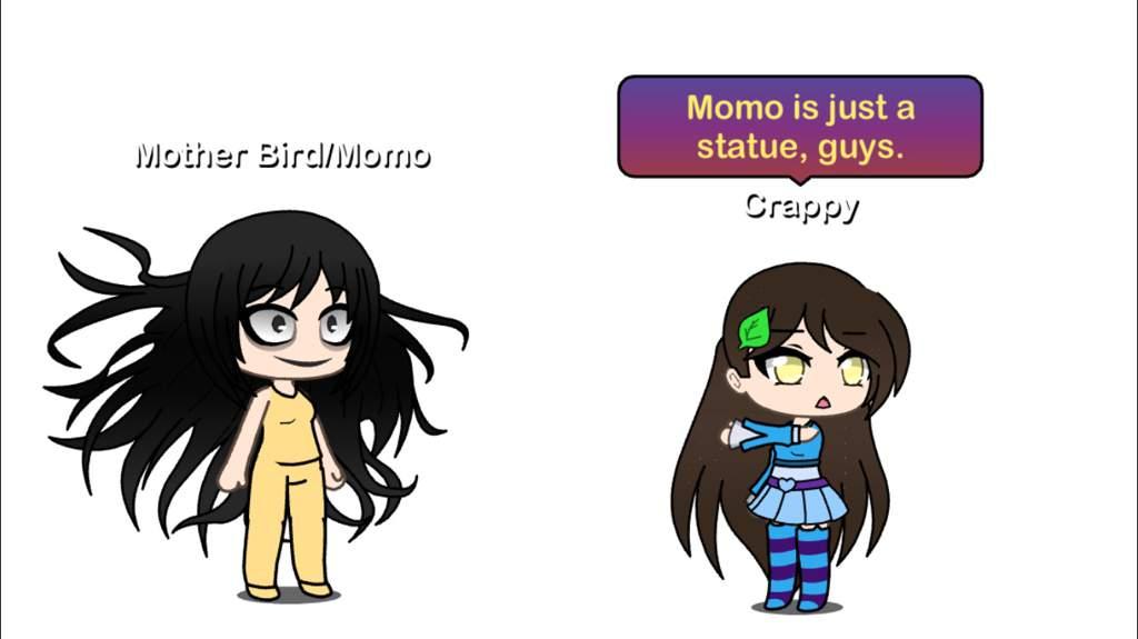 A talk about the Momo Challenge | Gacha ~ Amino