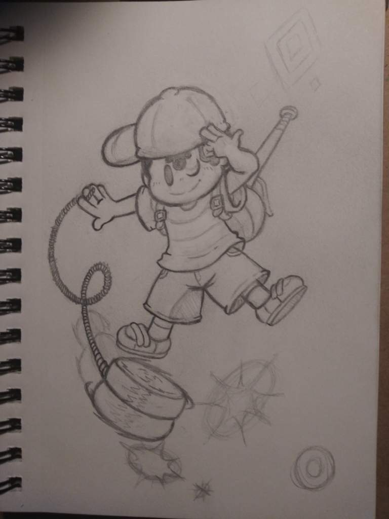 Ness Swings Into Battle   EarthBound Amino