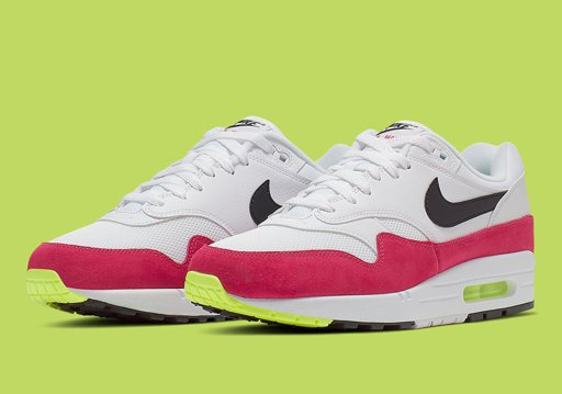 competitive price a4d7c 89ab0 Nike Air Max 1 Volt Rush Pink AH8145-111 Info   SneakerNews.com ...