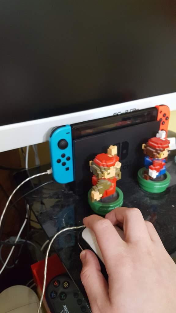 Nintendo switch Idea USB mouse compatability with super mario maker
