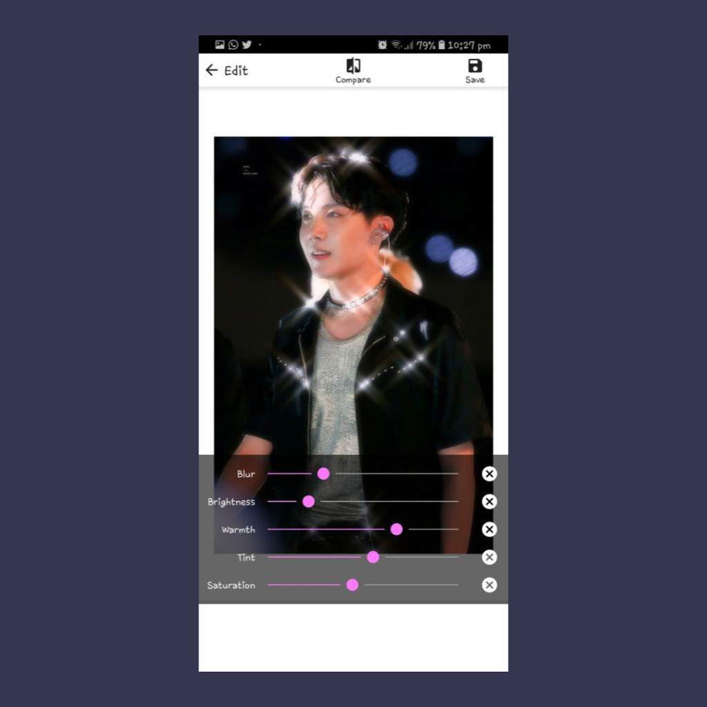 90's heartthrob edit tutorial : Android version | ARMY's Amino