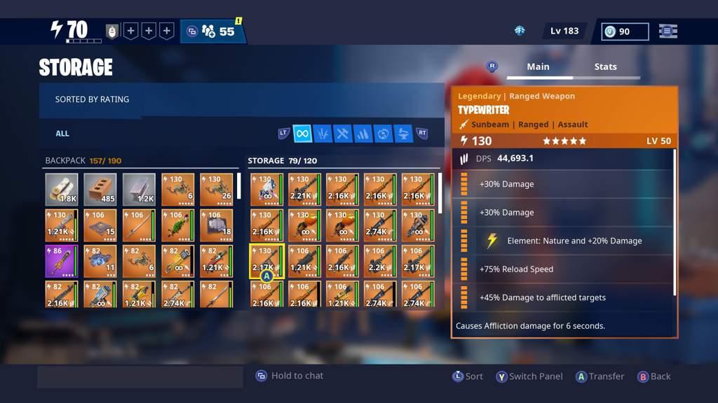 My Save The World Guns If Anyone Wanna Trade Lol Fortnite Battle