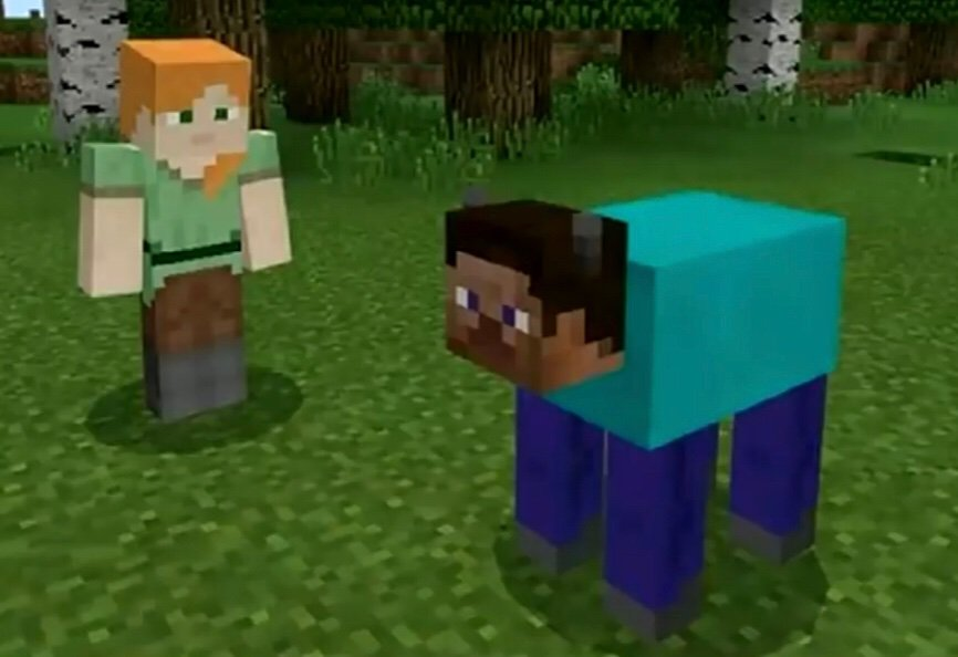 Image result for minecraft cursed images