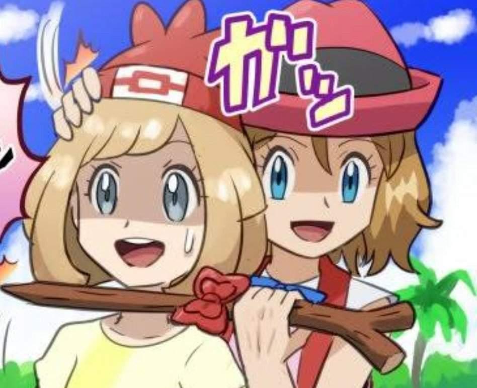Fanart Yandere Serena To The Rescue Pokemon Amino