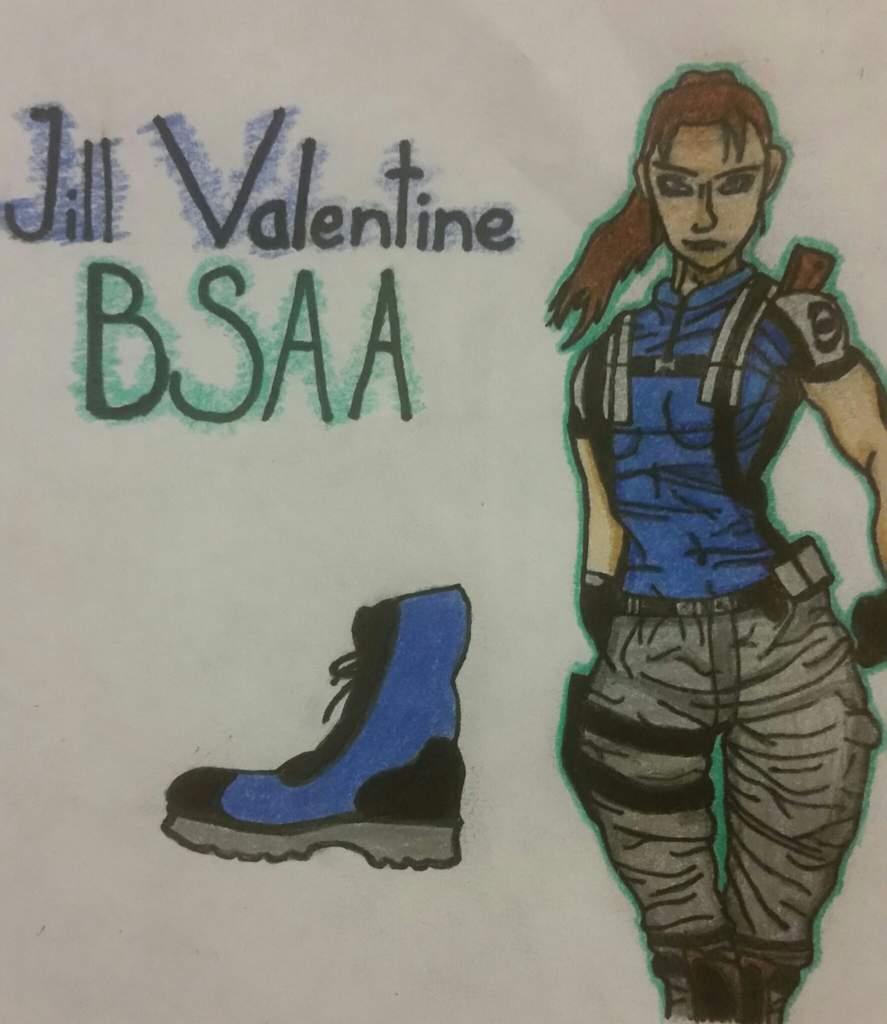 Bsaa Jill Valentine Resident Evil Amino