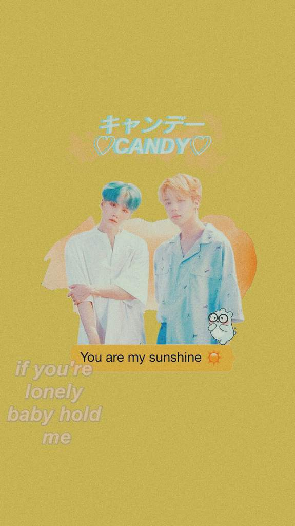Yoonmin Yellow Aesthetic Wallpaper Army S Amino