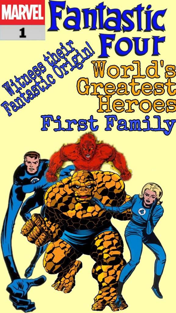 Fantastic Four First Family Marvel Amino