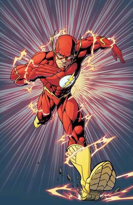 Dibujo 5 Flash Dc Universe Amino