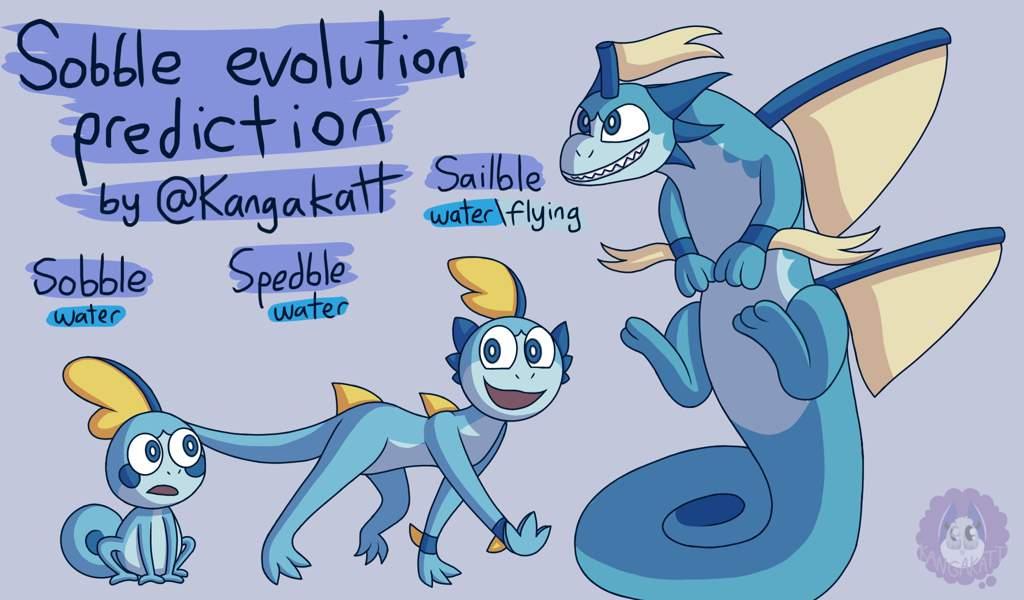Pokemon Sword Shield Evolution Predictions Pokemon Art Drawing