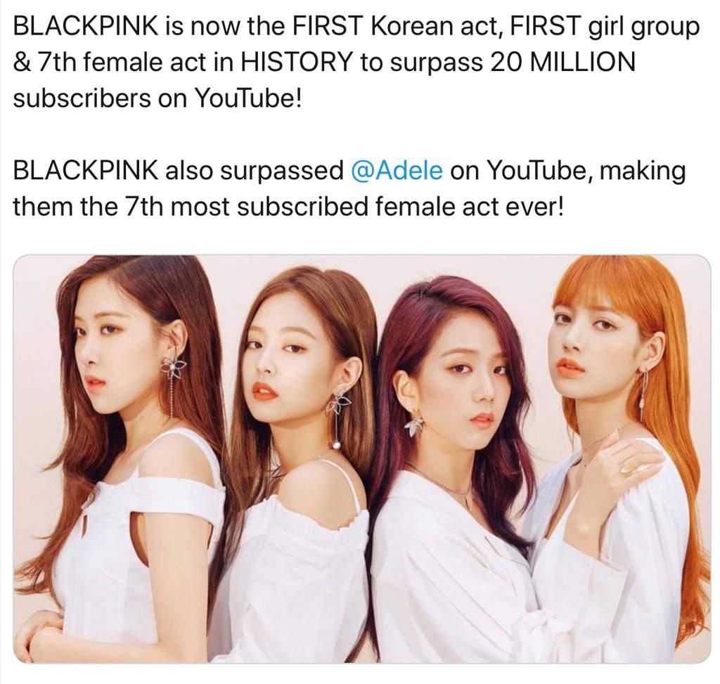 youtube blackpink