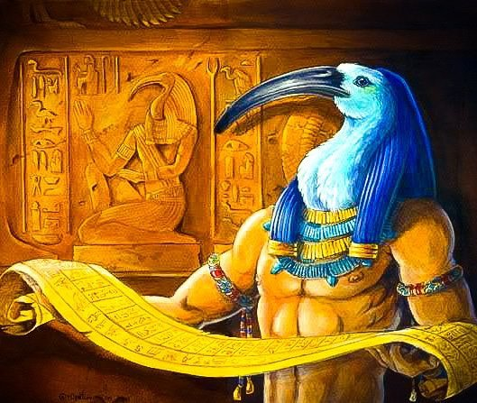 Thoth – Deus Egípcio do Conhecimento e da Luz. | A CASA DA BRUXA Amino