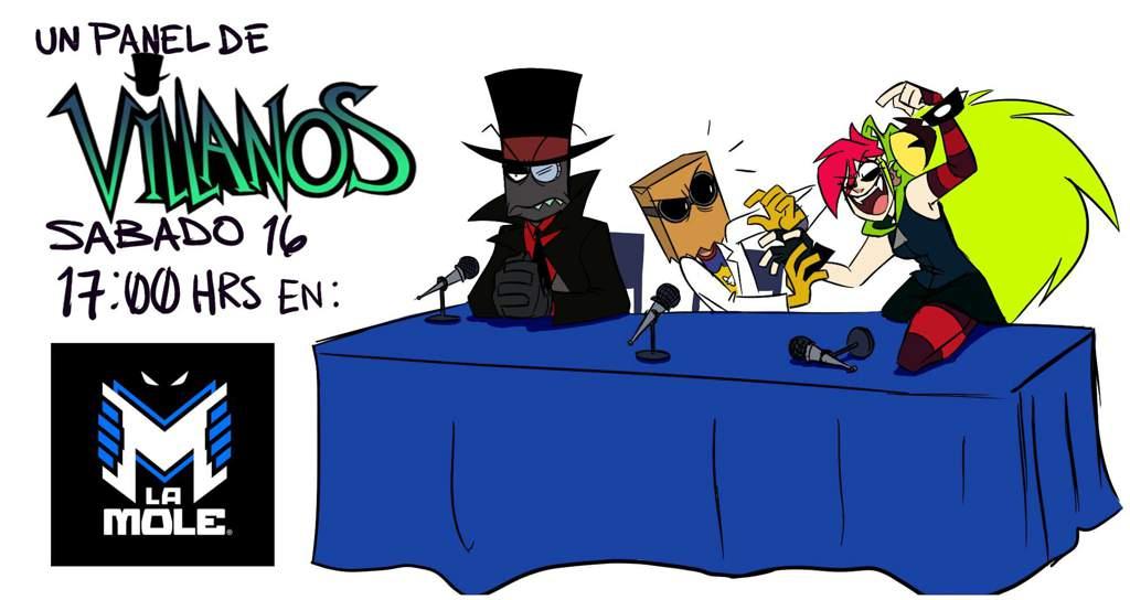 LaMole convention: day 2   Villainous! Amino