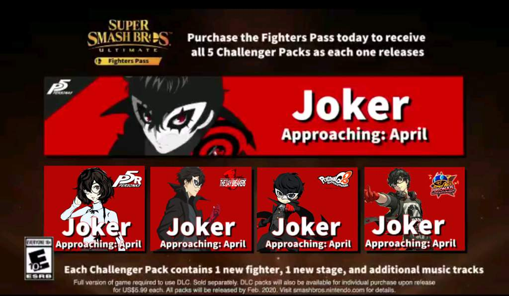Looking Cool Joker Smashbrosultimate