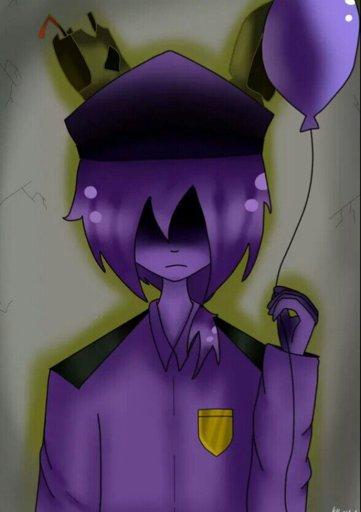 Арты фиолетового парня