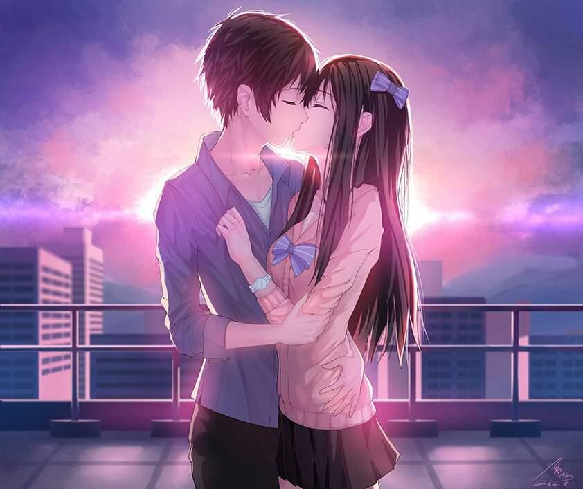 Самые красивые картинки аниме девушек и парней