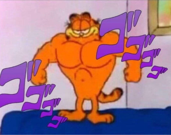 Garfield The Menacing Jojo Amino Amino