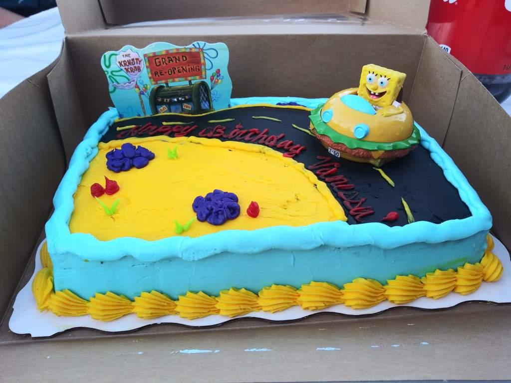 Birthday Cake! | SpongeBob SquarePants Amino