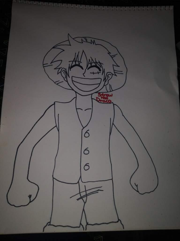 Monkey D Luffy Drawing Progress One Piece Amino