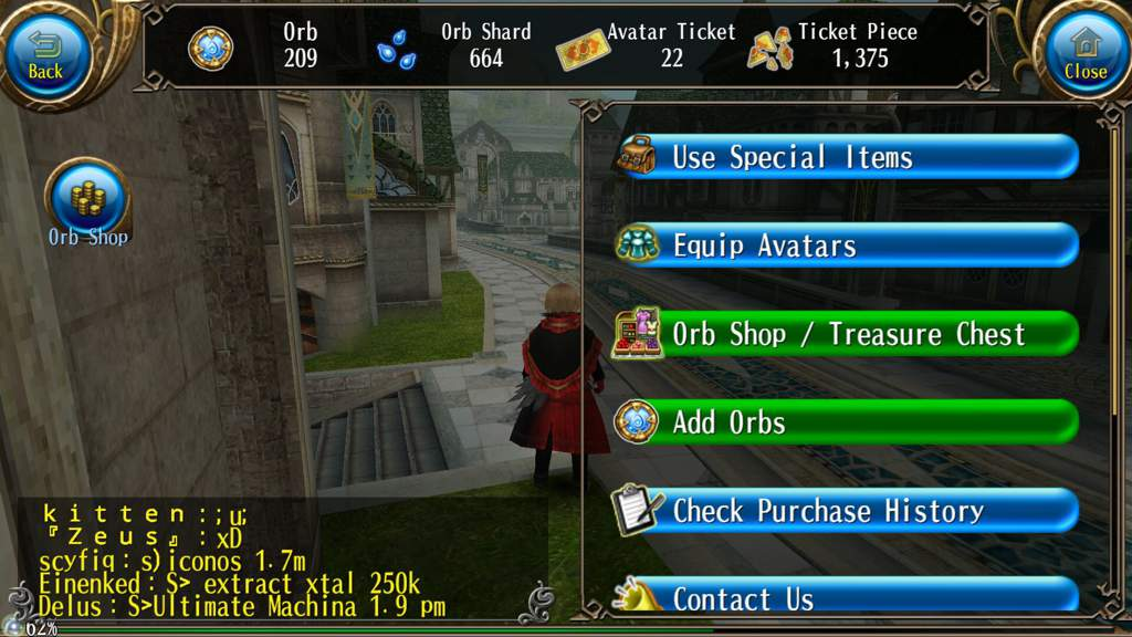 toram online how to get free orbs