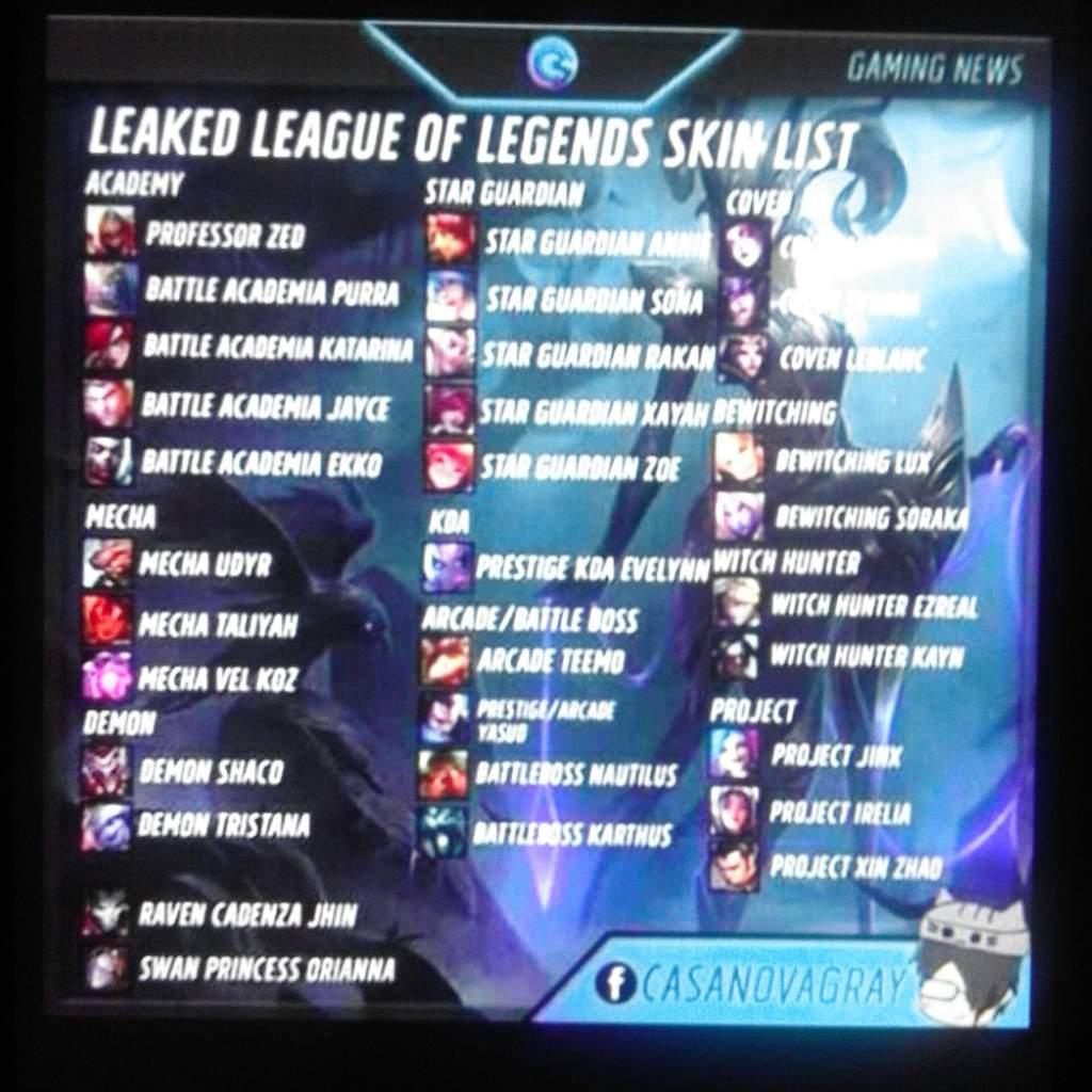 League of Legends leak | League Of Legends Official Amino