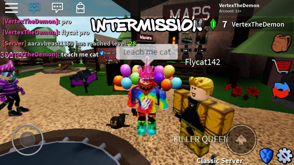 Playing Assassin With My Friends Flycat142 | Roblox Amino