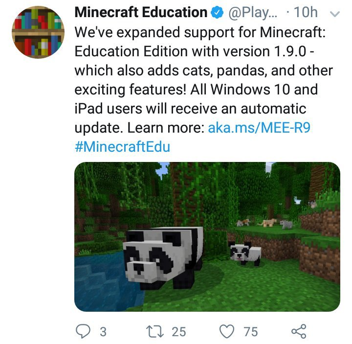 1 9 Update For Education Out, OG Textures For MCPE Almost