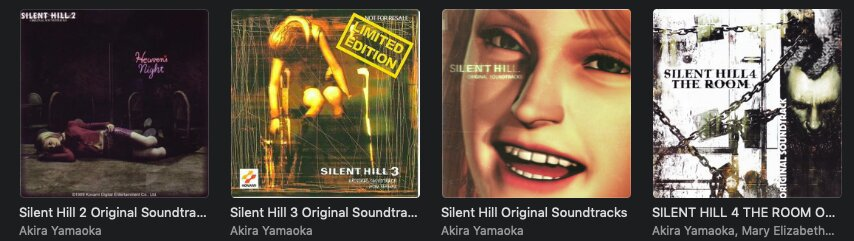Silent Hill Digital Music Collection The Silent Hill Amino Amino