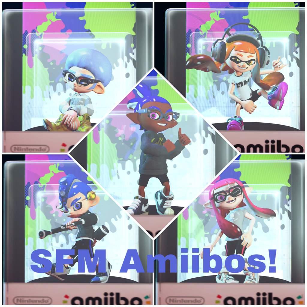 Splatoon Amiibos![SFM] | Splatoon Amino
