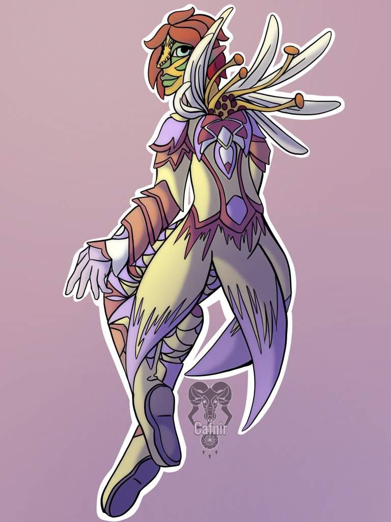 Sylvari Full body Fan Art | Guild Wars 2 Amino